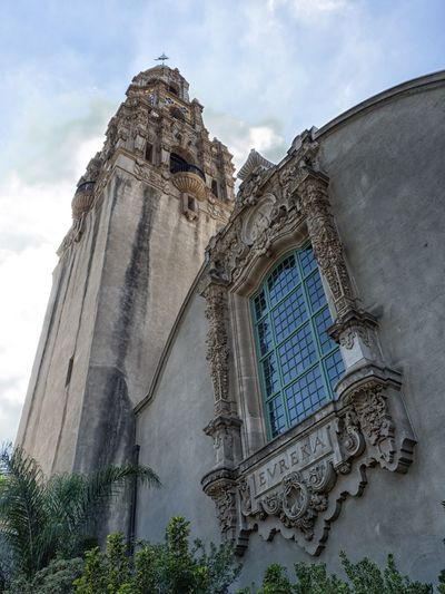 Wonderful architecture at Balboa Park in San Diego, California. Balboa Park San Diego California USA Architecture Park Building Religion Low Angle View Spirituality Sky History Travel Destinations