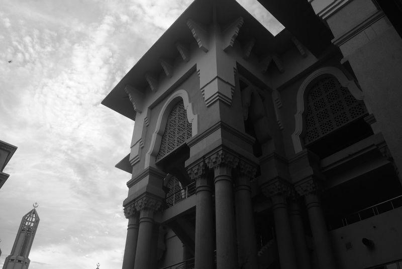 Black & White Architecture Building