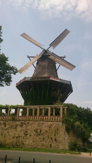 #germany #Potsdam Alternative Energy Architecture Built Structure Day Environmental Conservation History No People Outdoors Renewable Energy Windmill