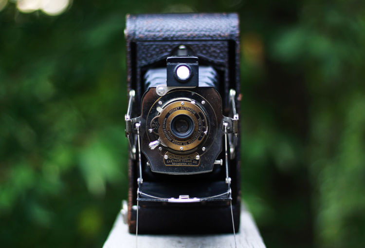 Love of old. Accuracy Animals Antique Camera Black Color Camera - Photographic Equipment Canon Clock Close-up Day Eastman K Eastman Kodak Eos50d Film Filmisnotdead Focus On Foreground Kodak Portra Natural No People Old Camera Old-fashioned Part Of Retro Styled Selective Focus Time Vintage Camera