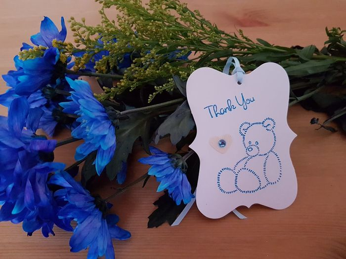 Thank You Thank You Tags Baby Baby Boy Baby Girl Baptism Birthday Anniversary Retirement Mothersday Flowers Appreciation Celebration Teddy Bear Gift Tag Baby Shower Party Blue Baptism Day