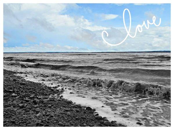 Ocean Love Nature Bayoffundy Nova Scotia Waves