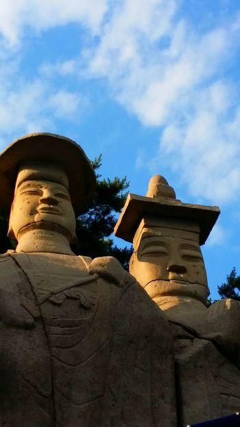 Korea Temple Budda Paju Yongamsa Stone Buddha
