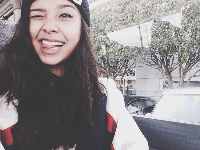 Swag Selfie Pretty Girl Selfportrait