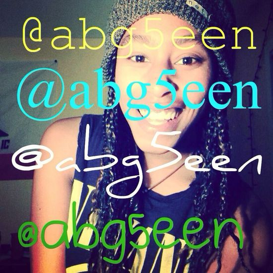You guys welcome hit up my IG. @abg5een