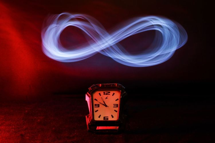 Light painting on wall