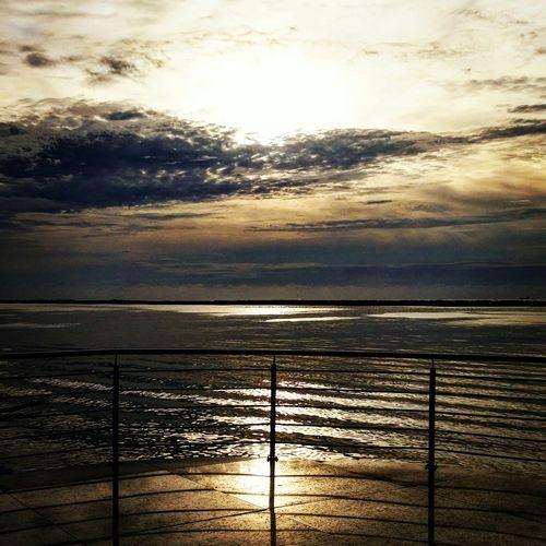 Relaxing Sky And Clouds Playa Miramar GolfoDeMexico Tamaulipas