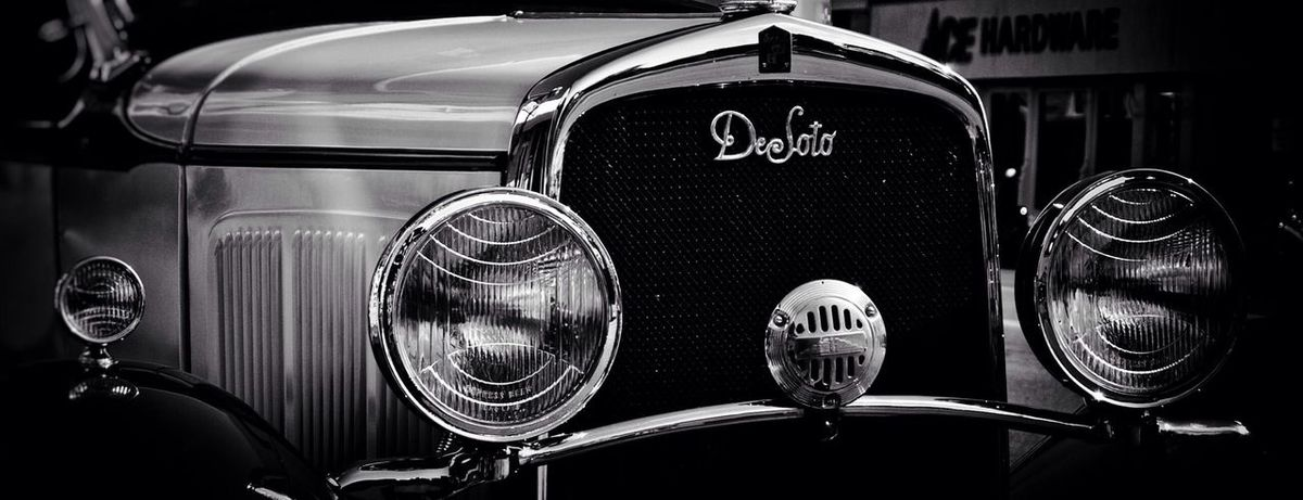 1930 DeSoto Auto Car Vintage Cars Antique Car