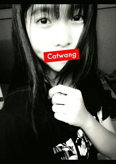 Boring :( wanna sleep for along times !!! Black&white Catwang😺