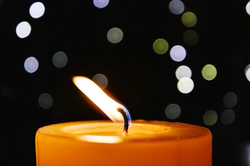 The light of hope Bokeh Bokeh Photography First Eyeem Photo Light Candle