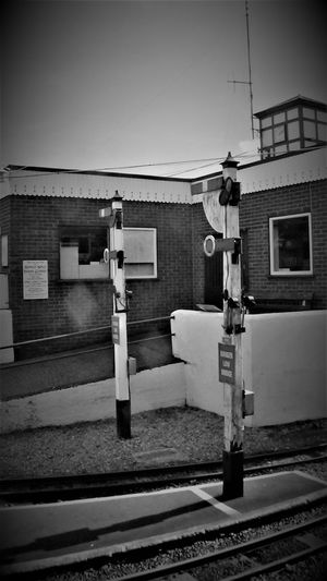 New Romney Station RH&DR 2017 2017 2017 Year Black & White RH&DR RHDR Romney Hythe And Dymchurch Railway Romney, Hythe & Dymchurch Railway Tourist Attraction  Travel Travel Photography Architecture Black And White Black And White Photography Black&white Blackandwhite Blackandwhite Photography Blackandwhitephotography Building Exterior Built Structure Day New Romney No People Outdoors Sky Travelphotography