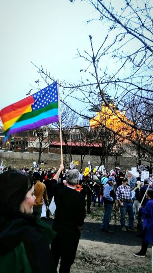 Large Group Of People Crowd Park Demonstration Flag In The Wind Sunset Not My President Democracy Signs, Signs, & More Signs Irwin Collection Eyem Gallery Marching Park Life Resist By ICP Resist! EyeEm Diversity The Photojournalist - 2017 EyeEm Awards