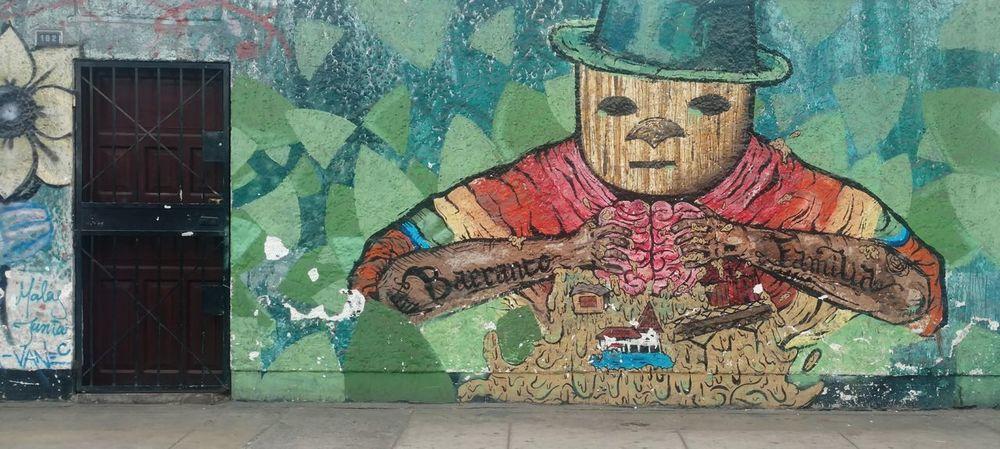 Art And Craft Graffiti Architecture Built Structure No People Day Close-up Indoors  Graffiti Graffiti Art Street Peru South America Urban