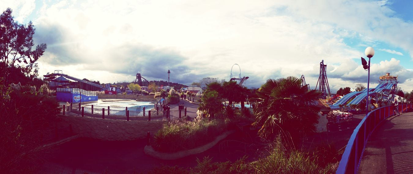 The EyeEm Facebook Cover Challenge Thorpepark Theme Park Rollercoaster