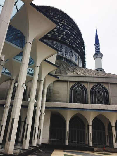 Blue Mosque Architecture Building Exterior Dome Place Of Worship