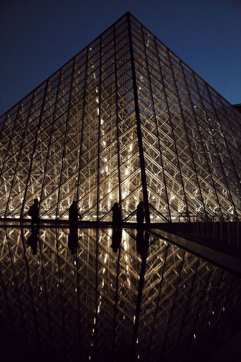 Louvre close up