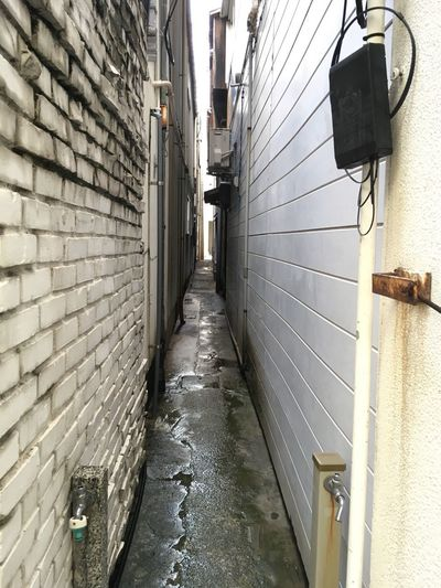 Narrow Lane Between The Building After The Rain 細道 ビルの間 雨上がり Niigata Japan Photography The Scenery That Tom Saw Tomの見た世界