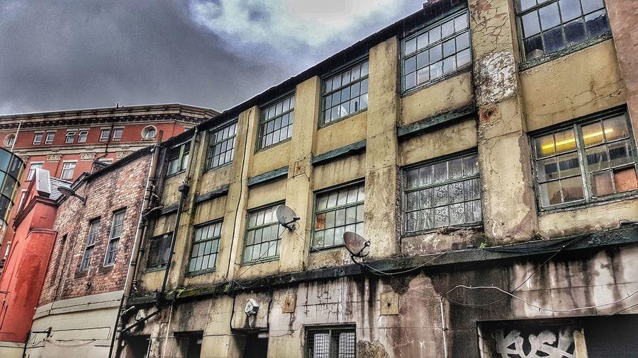 Urban decay.