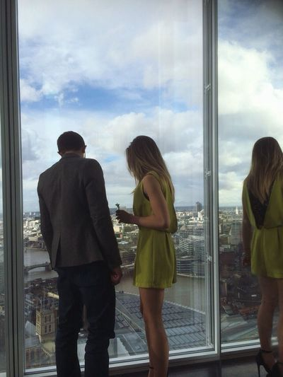 18th birthday up the Shard Dinner Cocktails Champagne Theshardlondon