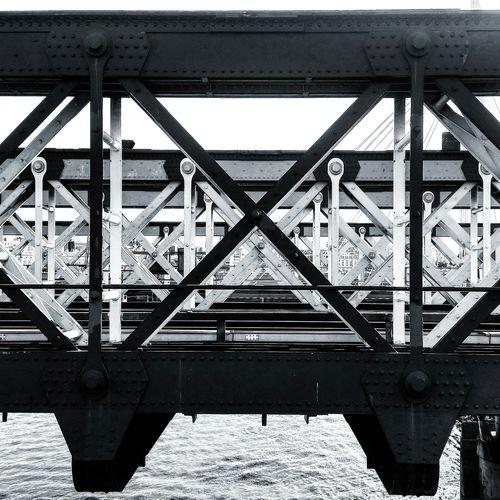 Geometric Shapes Bridge Waterloobridge Waterloo Embankment Blackandwhite Geometry Geometric Metal London