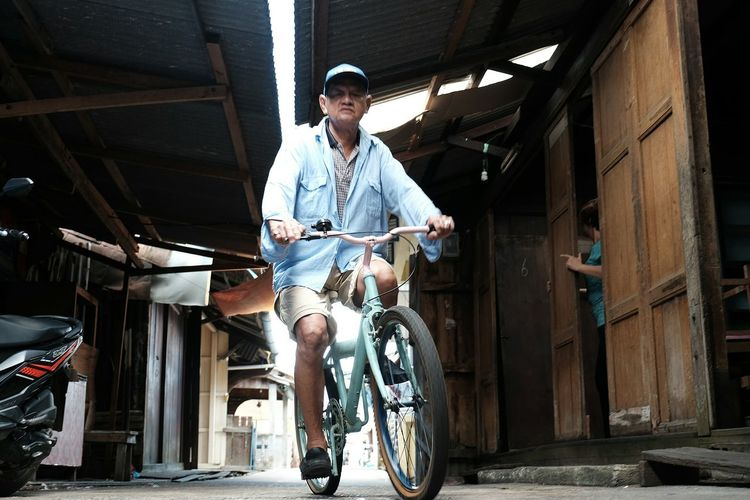 Casual Clothing Bicycle Adventuring Bicycling Bicycle Trip Old Man's Life Old Man Bicycle Adventures Bicycle Ride Bicycle Track Ride Bicycle Ride Bike Ride BMX Traditional Vehicle