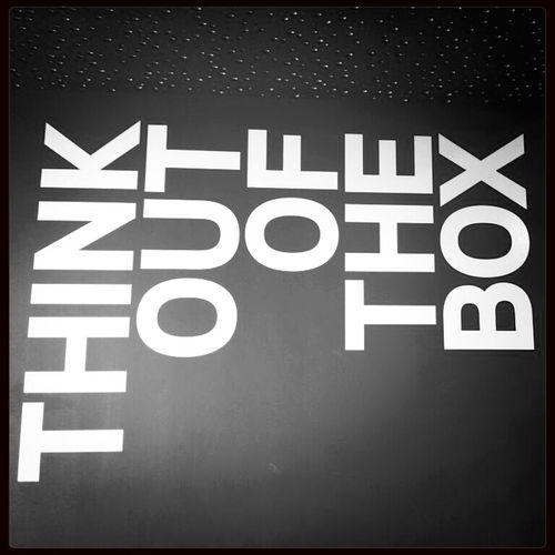Thinking Box Creativity Be Creative