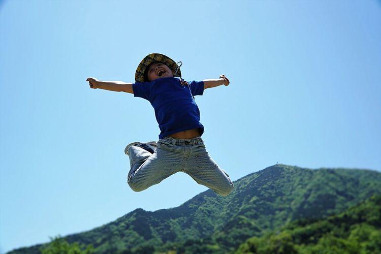High jump!