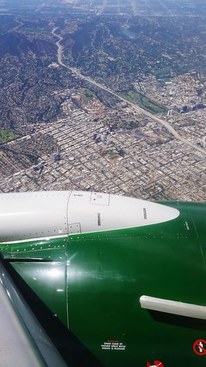 Shortly before landing at LAX. LAX Lax Airport Plane Los Angeles International Airport Losangeles Flying