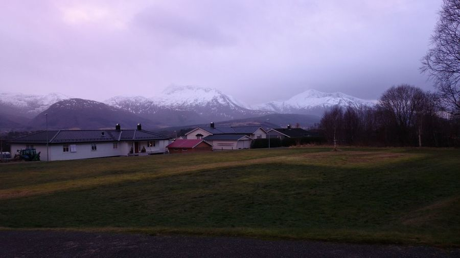 Mountains Snow ❄ Eide På Nordmøre Hello World