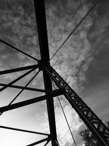 Toxxiccandii Toxiccandiiphotography Noir Bridge Beams Steel