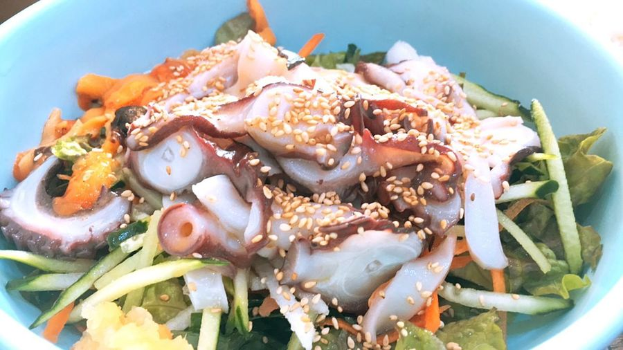 Cold raw fish