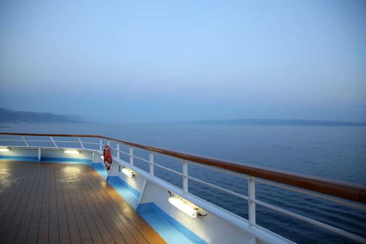 Deck of a