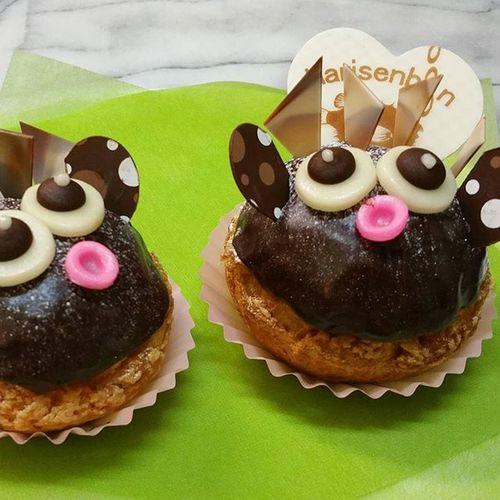ハリセンボンのシュークリーム!! かわい~♥by 菓子の樹 Cute 可愛い 菓子の樹 ハリセンボン シュークリーム