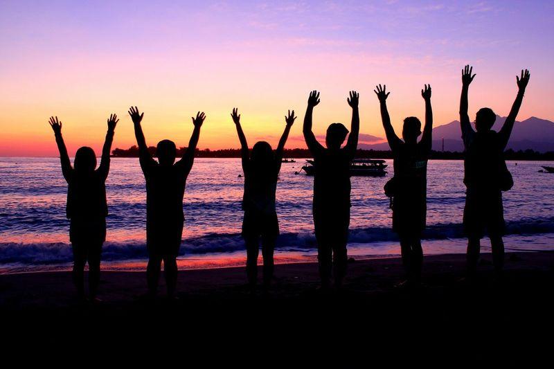 This is Freedom . Exploreindonesia Exploregilitrawangan . Friends Friendship Collected Community