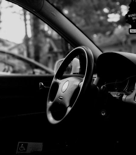 Land Vehicle Car Interior Car Pedal Steering Wheel Protection Vehicle Interior Close-up