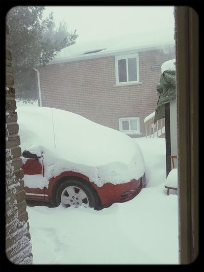 yep, Canada problems! Outside