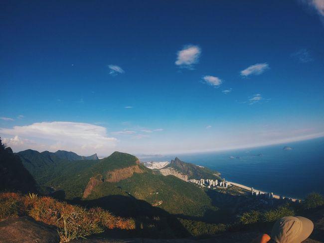 Rio De Janeiro Pedra Bonita Pedra Bonita Sea Sea And Sky
