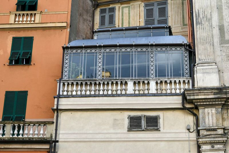 architectural details Winter Garden Glass Garden Antique Architecture Old City Building Travel Looking Around City Exploration Houses And Windows Window Architecture Building Exterior Residential Building Balcony House No People Built Structure Outdoors Façade Day City