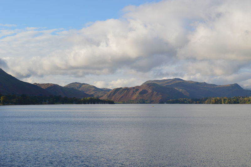 Outdoors Mountain Nature Beauty In Nature Idyllic Cloud - Sky Lake Tranquility Water Lakeshore Calm Ullswater Lake District Natural Beauty English Countryside Cumbria Tranquil Scene Waters Edge Mountain Range