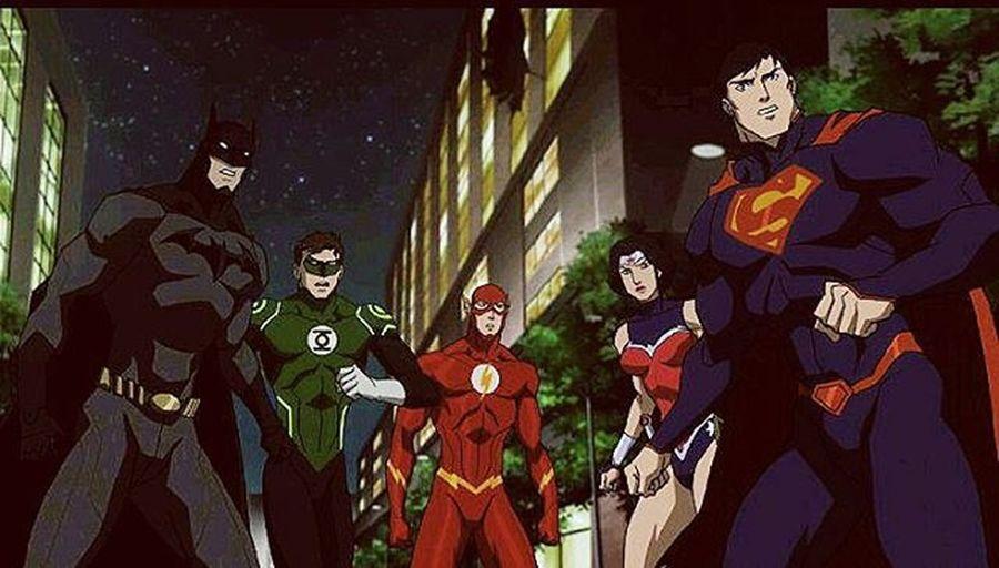"The Justiceleague are my favorite Superheroes . Justiceleaguewar Superseven Wonderwoman Batman Superman Theflash Greenlantern Cyborg Shazam Darkseid Aquaman Dcuniverse Dccomics JLWar JusticeLeagueOrigin Thenew52 Heroes & Villains  Diana: ""By the Gods"". 😐 Clark: ""You're strong. 😍 Diana: "" I know"". 😏"