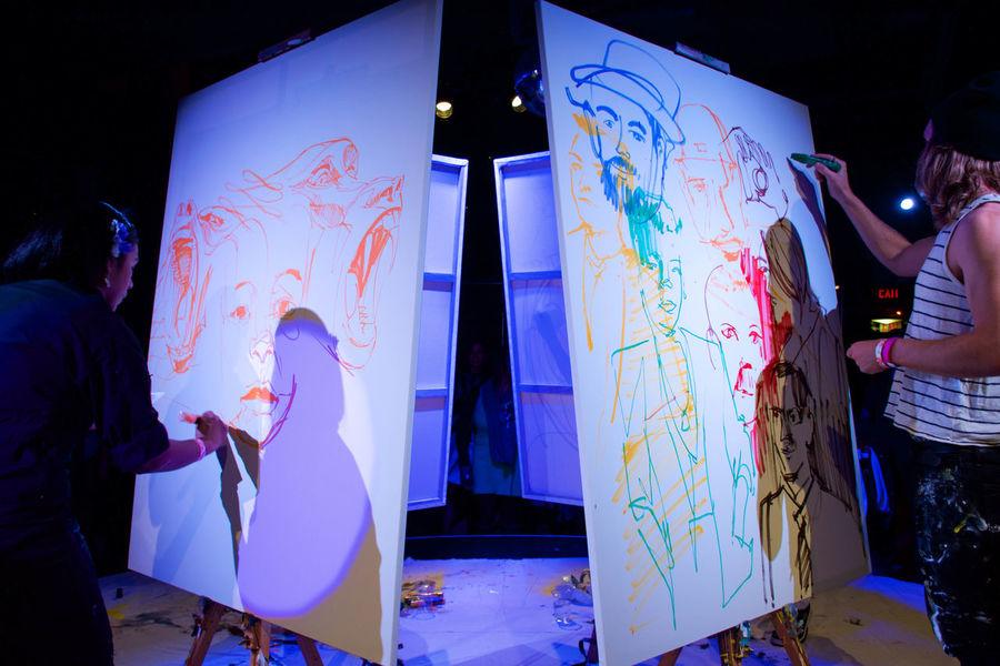 Art Art Battle  Canvas Communication Cool Design Fun Indoors  Party