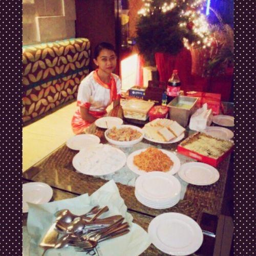 Merry Christmas and Happy Birthday Lord :) Celebration @MactanIsla Onduty OurFoods Photogrid Instagram Instashare WhileWaitingTheArrival
