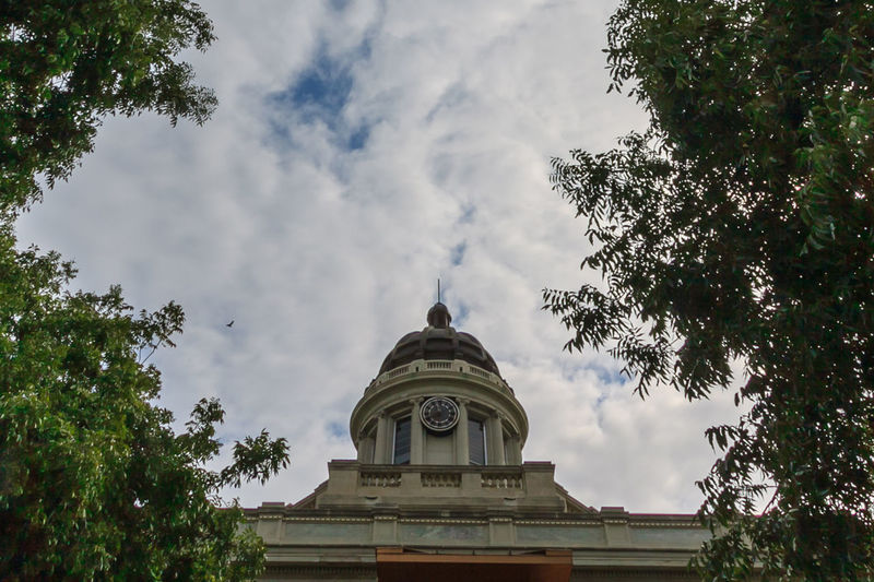 Courthouse Spire Architectural Feature Architecture Built Structure Capital Cities  Cloud Cloud - Sky Cloudy Courthouse Spire Day Dome Famous Place High Section History Low Angle View Nature No People Outdoors Sky Spirituality Tourism Travel Destinations Tree