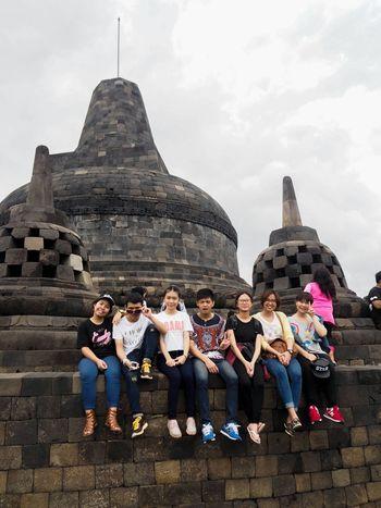 Enjoying Life Taking Photos Hello World Borobudur Temple Keeping An Eye On The World YogyakartaWonderful Indonesia