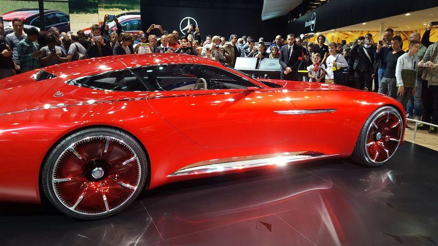 Mercedes-Benz Red Car Beatiful Land Vehicle First Eyeem Photo