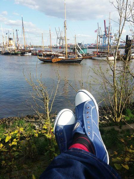 Hello World Hamburger Hafen Hamburgmeineperle HAMBURG ... Moin Moin Enjoying Life Germany Hamburg Hamburg Harbour Museumshafen Övelgönne Elbe Elbe River Hafenliebe Stettin