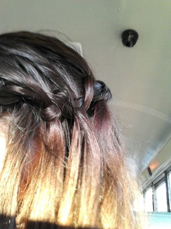 My hair today<3
