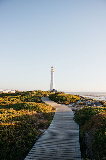 Lighthouse. Cape Town Green Color Lighthouse Love Nature Noordhoek Path Peace Road South Africa Travel Adventure Beauty In Nature Blackandwhite Clear Sky Day Explore Jonnynichayes Kommetjie Landscape Minimalism Ocean Sea Travel Destinations Wallpaper