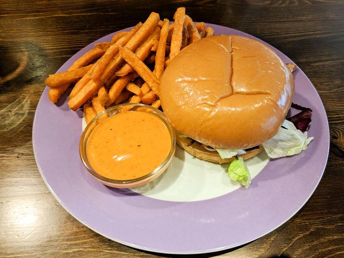 Hamburger with