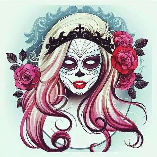 Art Tattoo Skull Mexican Womanskull First Eyeem Photo